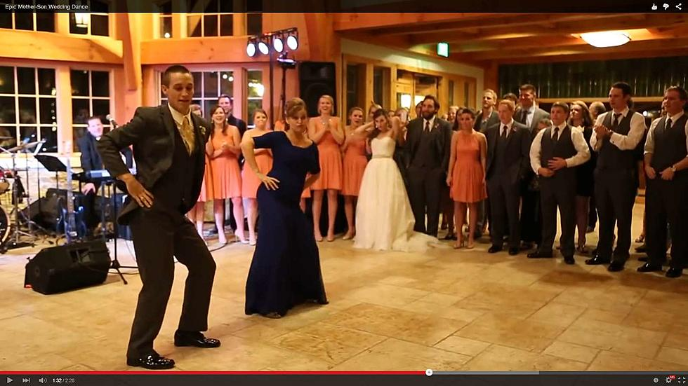 Mother And Son Tear It Up During Wedding Dance Video