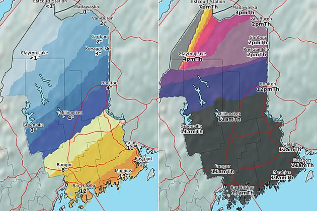 National Weather Service Caribou ME via Facebook