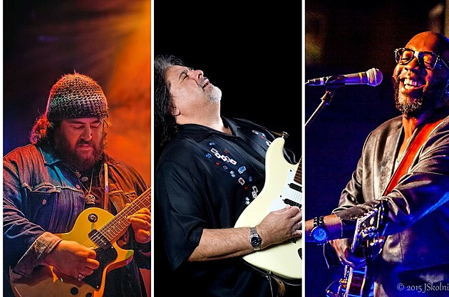 Courtesy of Nick Moss Band, Coco Montoya and Mr. Sipp